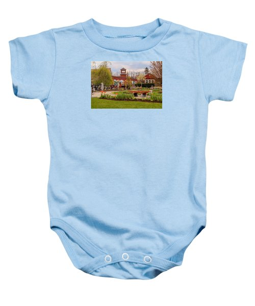 Historic Rail Station, Manhan Rail Trail Easthampton Baby Onesie