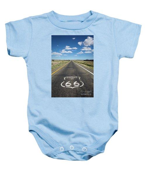 Historica Us Route 66 Arizona Baby Onesie