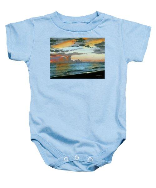 Holmes Beach Baby Onesie