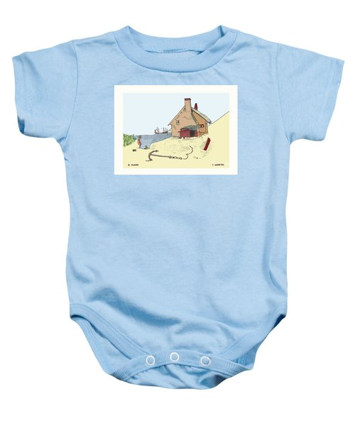 Home By The Sea Baby Onesie