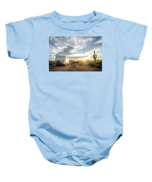 Home In The Desert Baby Onesie
