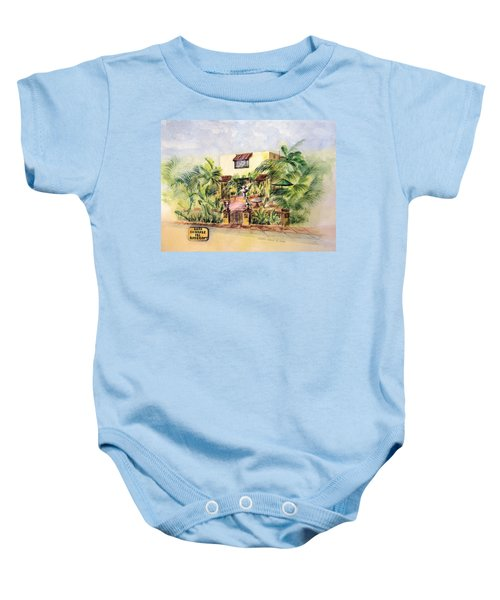 Home On Belmont Shore Baby Onesie