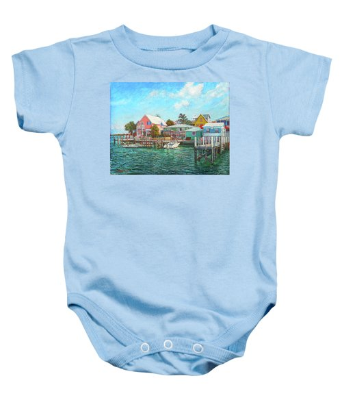 Hope Town By The Sea Baby Onesie