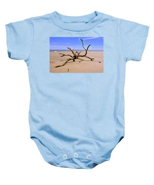 Hunting Island Beach Beaufort Sc Baby Onesie