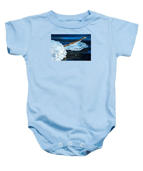 Ice Formation 12 Baby Onesie