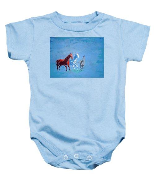 Il Futuro Ci Viene Incontro Baby Onesie