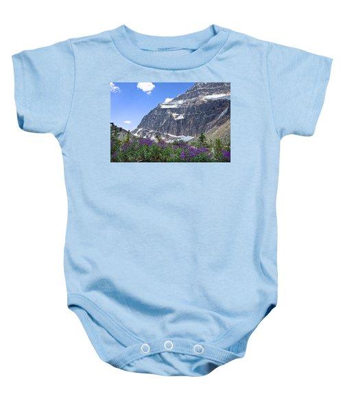 Interpretive Apps In The Canadian Rockies Baby Onesie