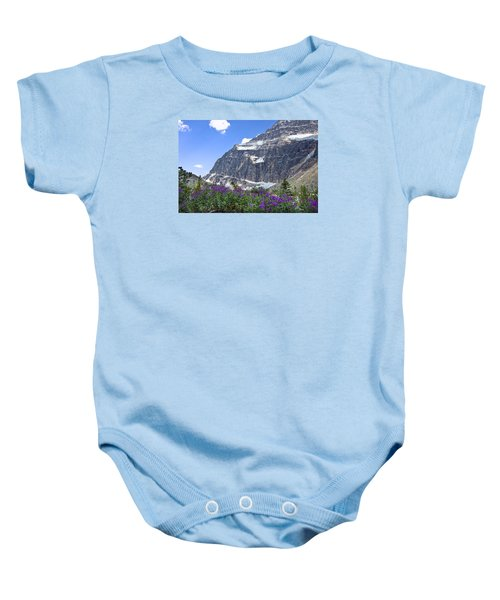 Interpretive Apps In The Canadian Rockies Baby Onesie