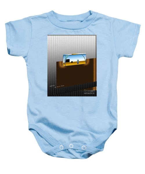 Inw_20a6111_sickle-to-silo_diag Baby Onesie
