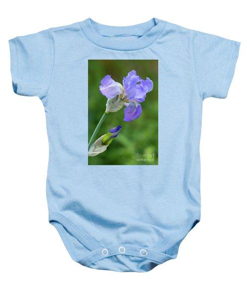 Iris Blue Baby Onesie