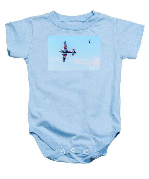 It's A Bird And A Plane, Red Bull Air Show, Rovinj, Croatia Baby Onesie
