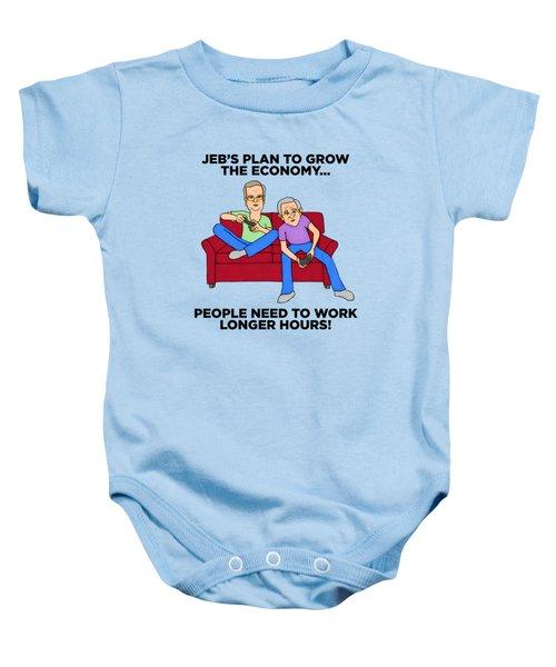 Jeb Bush Baby Onesie by Sean Corcoran