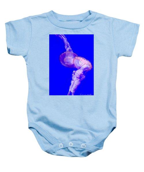 Jellyfish Pair-8765 Baby Onesie