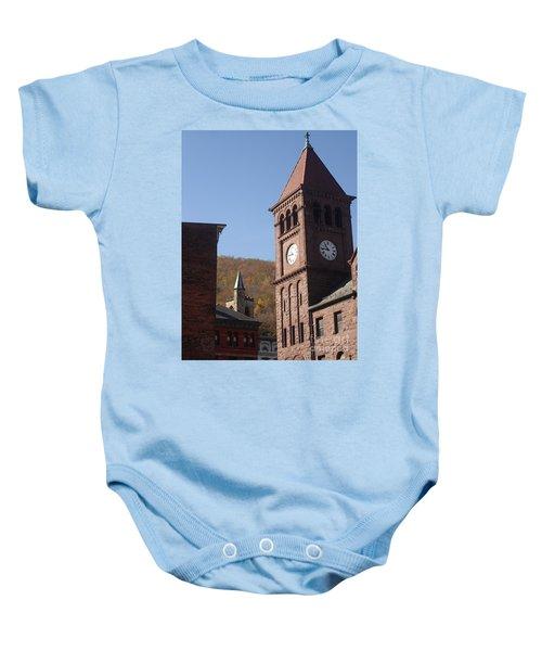 Jim Thorpe Rooftops Baby Onesie