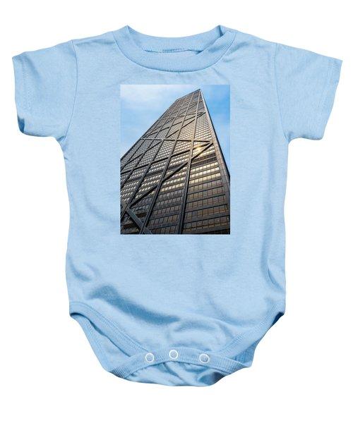 John Hancock Center Chicago Baby Onesie by Steve Gadomski
