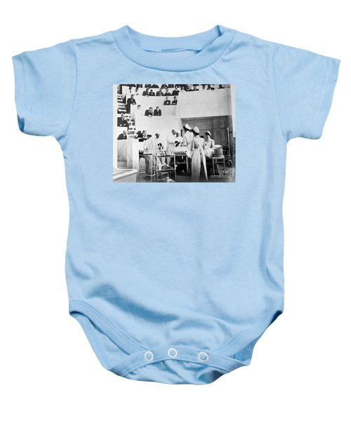 John Hopkins Operating Theater, 19031904 Baby Onesie