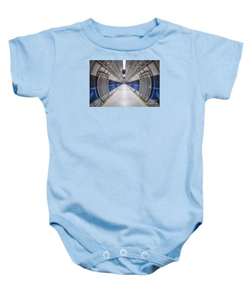 Journey To The Center Of Your Mind Baby Onesie by Evelina Kremsdorf