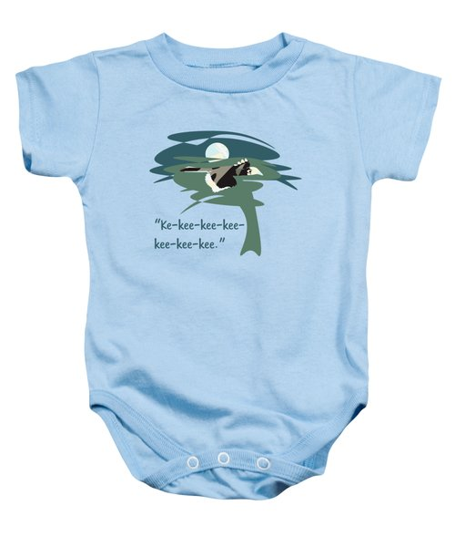 Kelingking Hornbill Baby Onesie
