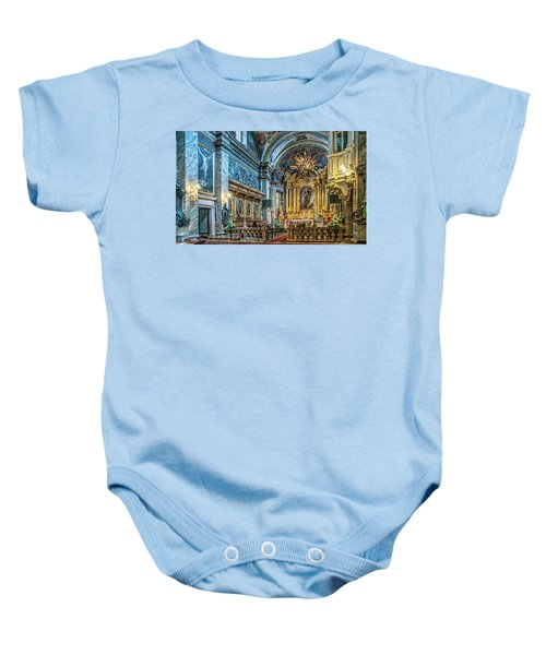 Kielce Cathedral In Poland Baby Onesie