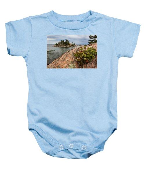 Killarney-island-pink-4530 Baby Onesie