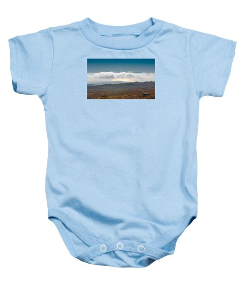 Baby Onesie featuring the photograph Kingdom In The Sky by Gary Eason