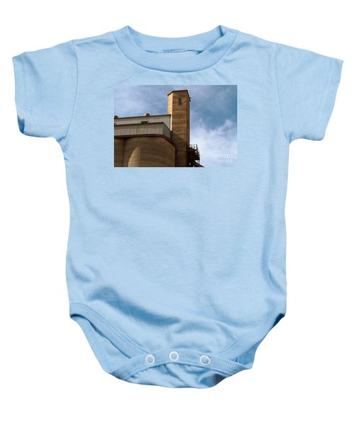 Baby Onesie featuring the photograph Kingscote Castle by Stephen Mitchell