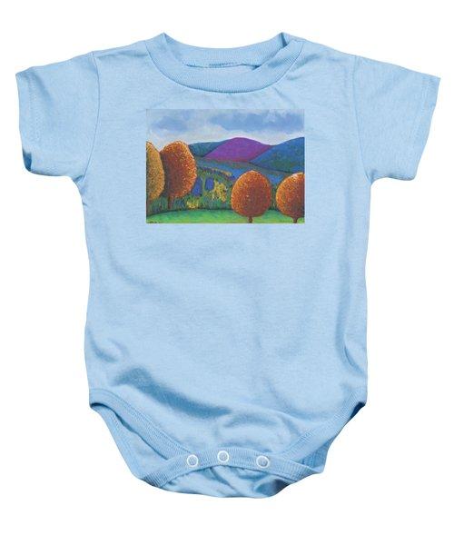 Kripalu Autumn Baby Onesie
