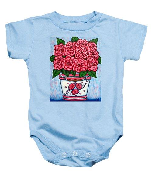 La Vie En Rose Baby Onesie
