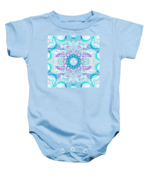 Lacy Mandala Baby Onesie