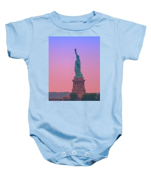 Lady Liberty, Standing Tall Baby Onesie