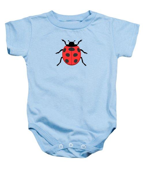 Ladybug Baby Onesie by Gaspar Avila