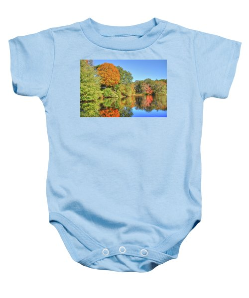 Lake Noquochoke, Dartmouth, Ma Baby Onesie