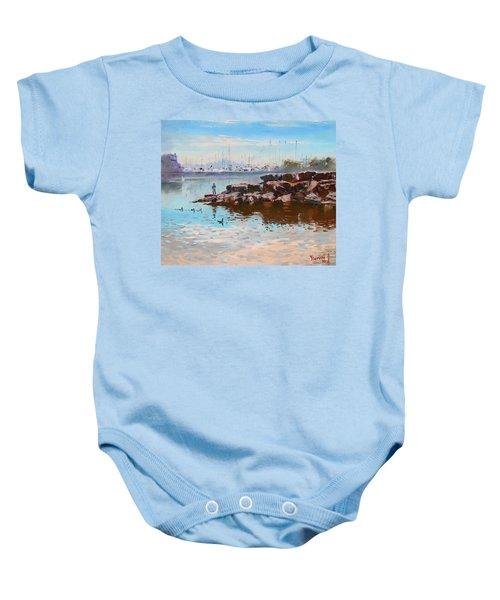 Lake Shore Mississauga Toronto  Baby Onesie