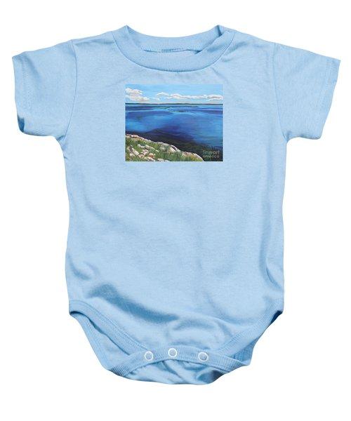 Lake Toho Baby Onesie