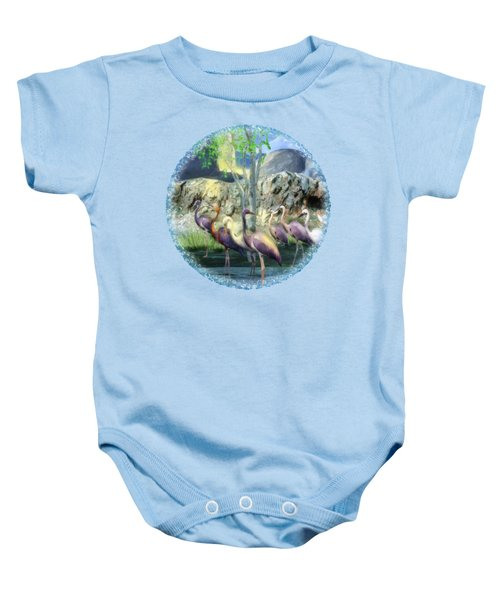 Lakeside View Baby Onesie by Sharon and Renee Lozen