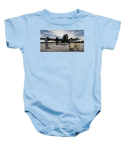 Lancaster Engine Test Baby Onesie
