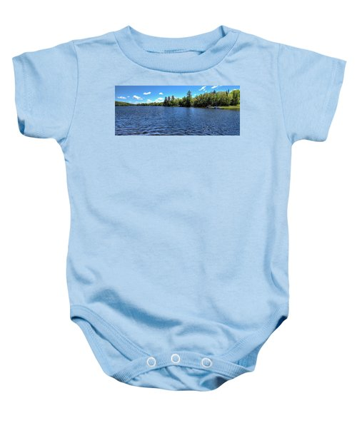 Late Spring On 6th Lake Baby Onesie