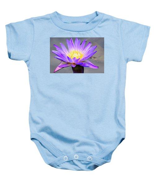 Lavender Baby Onesie