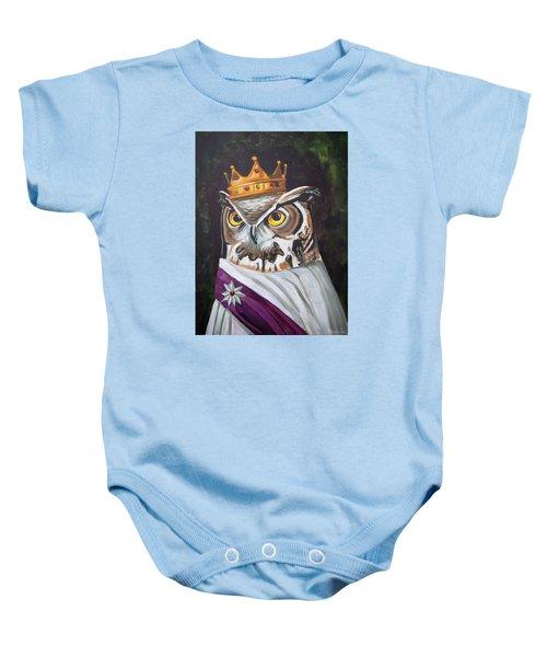 Le Royal Owl Baby Onesie