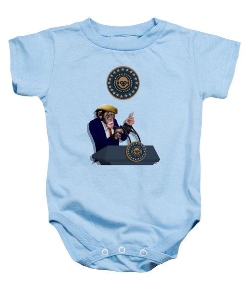 Leader Of The Apes Baby Onesie