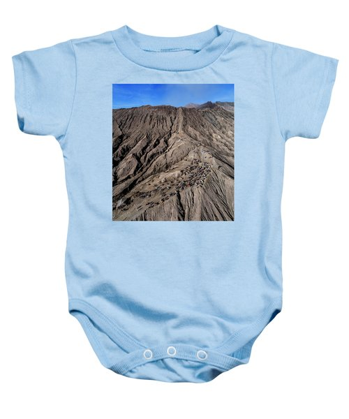 Leading To The Volcano Crater Baby Onesie