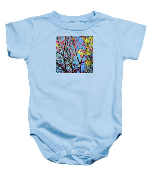 Leaves And Trees 980 Baby Onesie