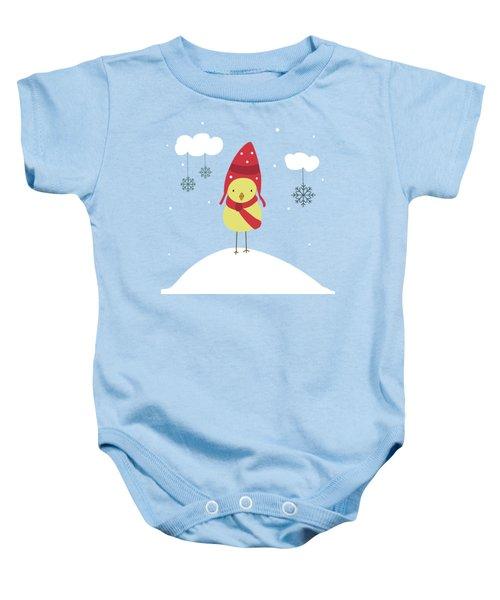 Let It Snow Baby Onesie