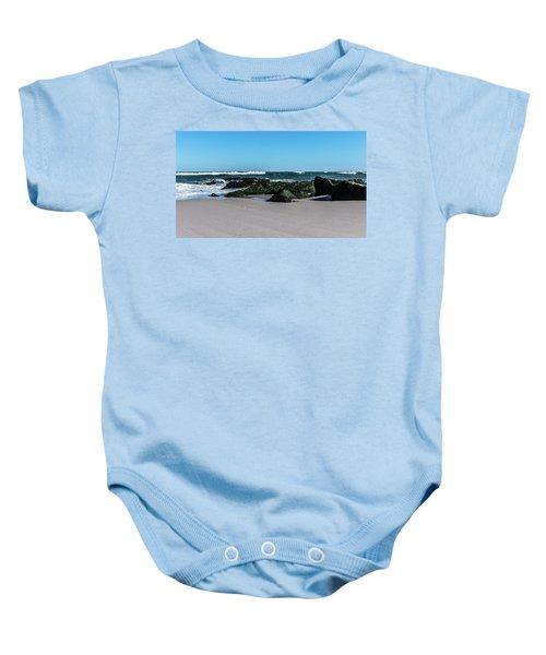 Lifes A Beach Baby Onesie