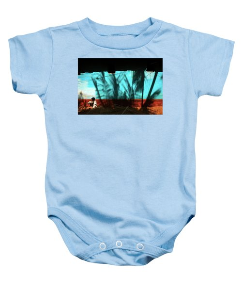 Light And Shadows Baby Onesie