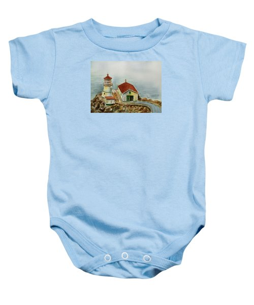 Lighthouse Point Reyes California Baby Onesie