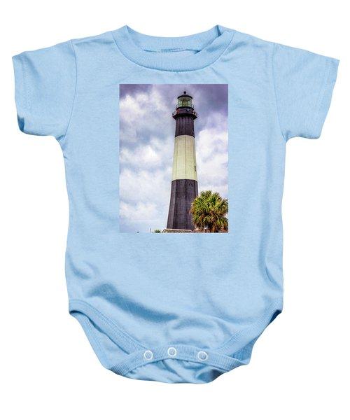 Lighthouse - Tybee Island, Georgia Baby Onesie