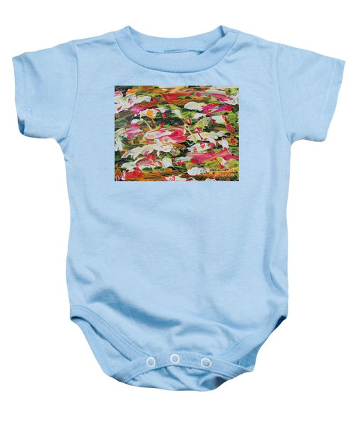 Lily Pads Baby Onesie
