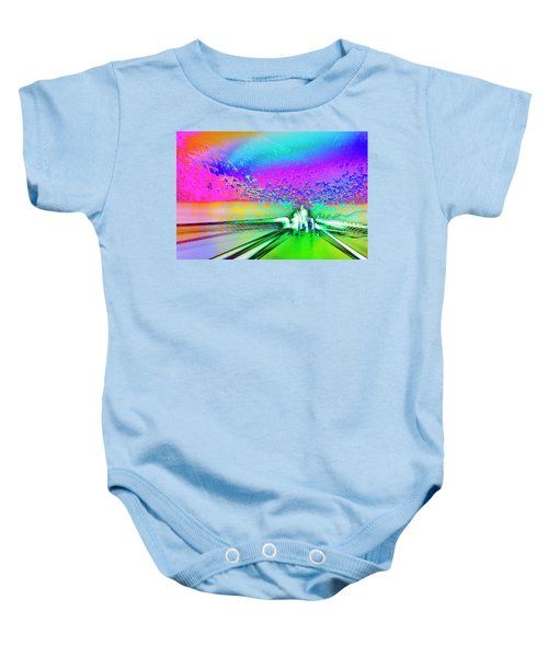 The Dream Castle Baby Onesie