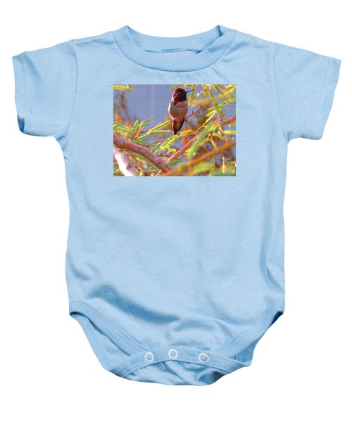 Little Jewel With Wings Baby Onesie